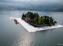 THE FLOATING PIERS, MARONI: INIZIATIVA UNICA AL MONDO, SIAMO PRONTI