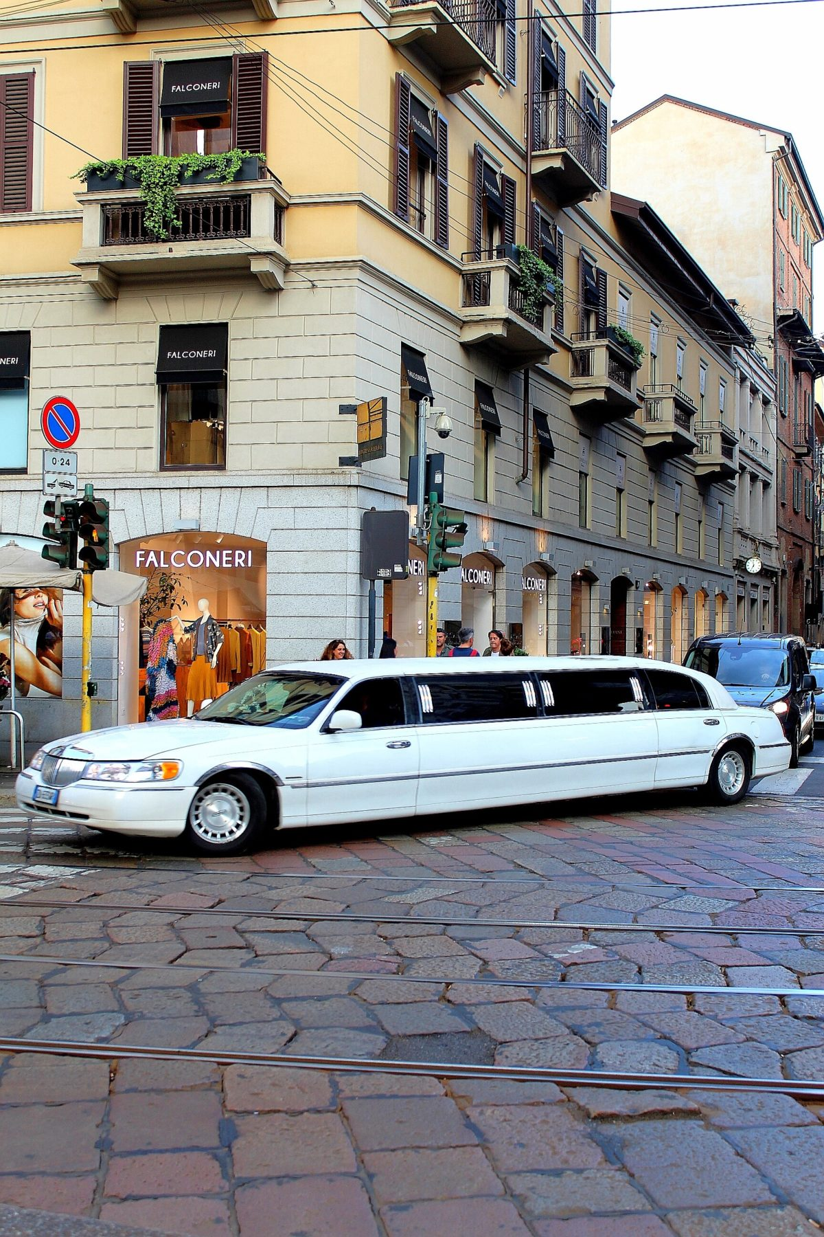 SHOPPING IN LIMOUSINE