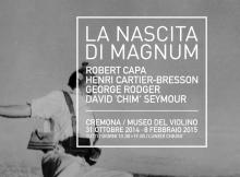 FOTOGRAFIA, CAPPELLINI PRESENTA MOSTRA 'LA NASCITA DI MAGNUM'