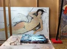 CAPPELLINI:NELL'ATELIER DI SALVATORE FIUME IL CUORE PULSANTE DELL'ARTISTA